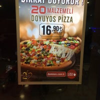 Photo taken at Domino's Pizza by Yusuf S. on 5/10/2016