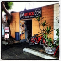 Photo taken at Bike Attack by Tom C. on 6/30/2013