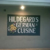 Photo taken at Hildegard's German Cuisine by Hans-Edmund G. on 2/7/2015