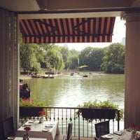 Photo taken at The Loeb Boathouse in Central Park by Richard T. on 6/29/2013