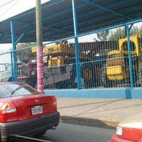 Photo taken at Metrobus Magdalena De Las Salinas by Patricia C. on 5/14/2016