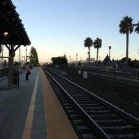 Photo taken at San Carlos Caltrain Station by Matt H. on 8/28/2013