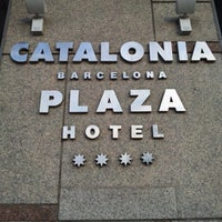 Photo taken at Hotel Catalonia Barcelona Plaza by Doug H. on 10/14/2012
