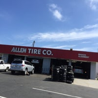 Photo taken at Allen Tire Company by Salvador F. on 7/9/2016