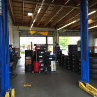 Photo taken at Allen Tire Company by Salvador F. on 7/15/2016