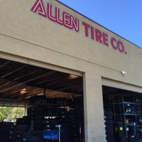 Photo taken at Allen Tire Company by Salvador F. on 6/20/2016