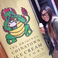 Photo taken at The Original Chinatown Ice Cream Factory by Winnie L. on 5/19/2013