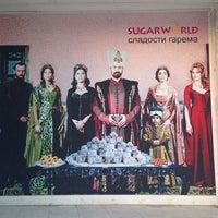Photo taken at Sugar World, Hurghada. Store of Turkish Sweets by Kemal K. on 3/27/2014