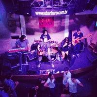 Photo taken at O Bar BarO by Caio C. on 11/24/2012