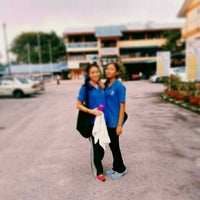 Photo taken at SMK Subang Jaya by ∝Grace H. on 1/11/2016