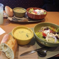 Photo taken at Panera Bread by Hannah B. on 3/13/2014