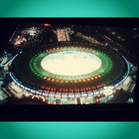Photo taken at Mário Filho (Maracanã) Stadium by Renato Meireles on 7/1/2013