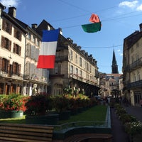 Photo taken at Mairie de Plombieres les Bains by Anastasia S. on 8/18/2015