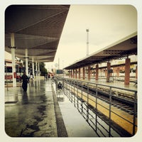 Photo taken at Estación Intermodal de Almería by José María S. on 9/29/2012