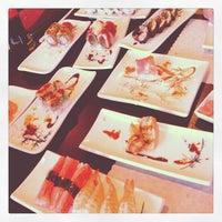 Photo taken at Hiroba Sushi by Nico A. on 7/11/2013