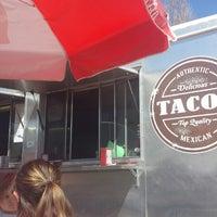 Photo taken at El Mercado Taco Wagon by kieran c. on 4/9/2016