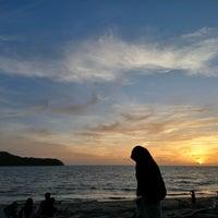 Photo taken at Tanjung Dawai by Nurfatwa I. on 9/26/2016