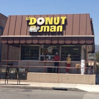 Photo taken at The Donut Man by Midtown Lunch LA on 6/18/2013