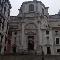 Photo taken at Chiesa dei S. Geremia e Lucia by Luca M. on 12/22/2013