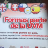 Photo taken at Universidad del Valle de Mexico by DJ MarkSkate on 1/28/2013