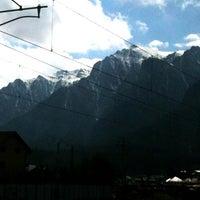 Photo taken at Bușteni by Douglas H. on 4/11/2013