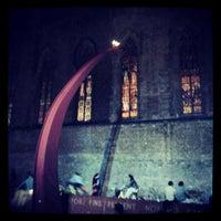 Photo taken at Fossar de les Moreres by Jav S. on 6/8/2013