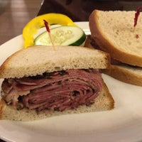 Photo taken at Mendy's Kosher Delicatessen by Albert T. on 9/10/2015