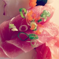 Photo taken at Sushi Yama by Tonya S. on 5/12/2013