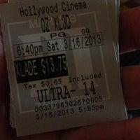 Photo taken at Marcus Hollywood Cinema by Sherri B. on 3/16/2013