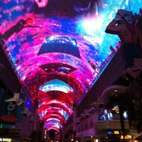 Photo taken at Fremont Street Experience by Gretchen W. on 11/26/2012