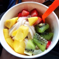 Photo taken at Monster Yogurt by Lily O. on 3/8/2015