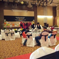 Photo taken at INTEKMA Resort & Convention Centre (IRCC) by rynieta a. on 12/22/2012