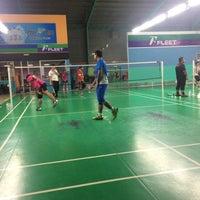 Photo taken at Pro One Badminton Centre by Ean S. on 10/14/2016