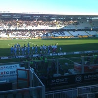 Photo taken at Orogel Stadium Dino Manuzzi by Matteo M. on 12/9/2012