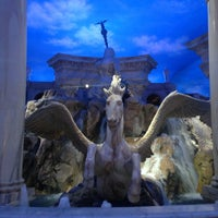 Photo taken at The Forum Shops at Caesars by Andre M. on 3/9/2013