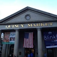 Photo taken at Quincy Market by Aaron W. on 11/10/2012