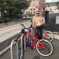 Photo taken at Battery Park City by Julietta V. on 10/30/2016