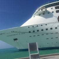 Photo taken at Royal Caribbean Enchantment Of The Seas by Alejandra R. on 1/3/2017