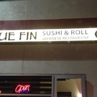 Photo taken at Blue Fin Sushi by Amy H. on 11/30/2013