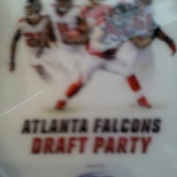 Photo taken at Atlanta Falcons Owners Club by Willie G. D. on 4/25/2013