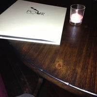 Photo taken at Pour Cafe & Wine Bar by Maria F. on 11/16/2012