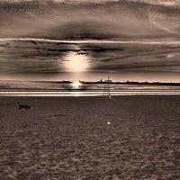 Photo taken at Playa de Salinas / San Juan de Nieva by GUAGUO I. on 6/30/2013