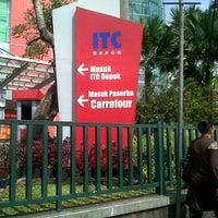 Photo taken at ITC Depok by Amelia M. on 11/22/2012