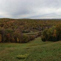 Photo taken at Mountain Warming Hut by kyle m. on 10/13/2012