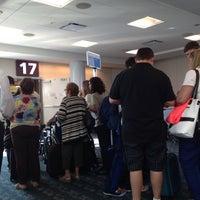 Photo taken at Gate 17 by David O. on 6/24/2014
