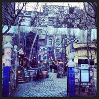 Photo taken at KUNST HAUS WIEN. Museum Hundertwasser by Ibrahim E. on 2/3/2013