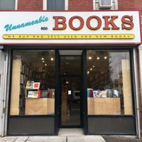 Photo taken at Unnameable Books by paddy M. on 10/1/2016