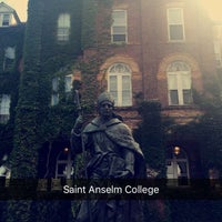 Photo taken at Saint Anselm College by Valentina G. on 7/16/2016