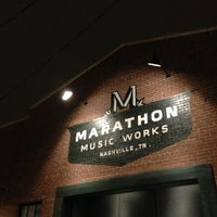 Photo taken at Marathon Music Works by Nicholas B. on 10/12/2012