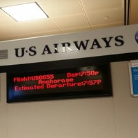 Photo taken at Gate A3 by Miguel B. on 4/16/2014